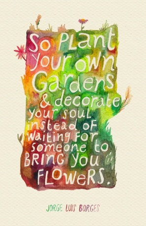 plant your own garden