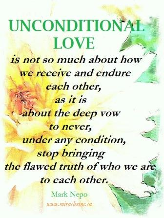 Unconditional Love - Mark Nepo - web size