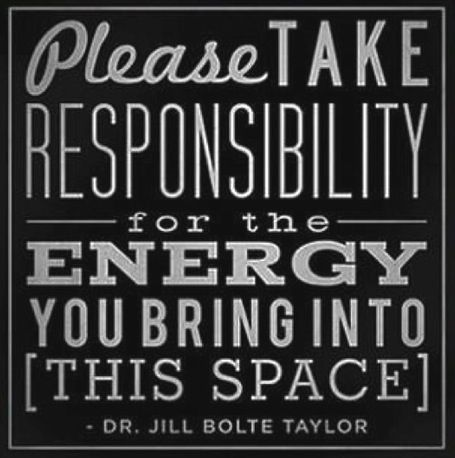 responsibility for energy